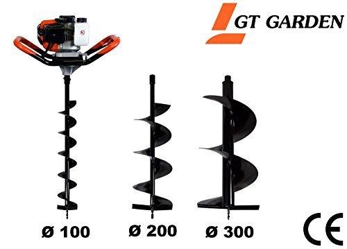 Gt garden 52 cm3 3CV avec 3 mèches